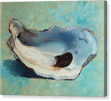 Slurp Canvas Print by Pam Talley