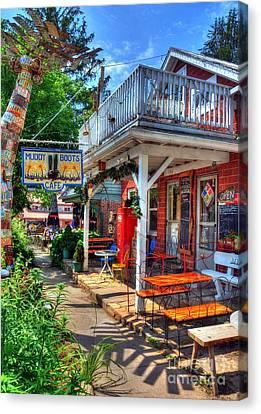 Small Town America 3 Canvas Print by Mel Steinhauer
