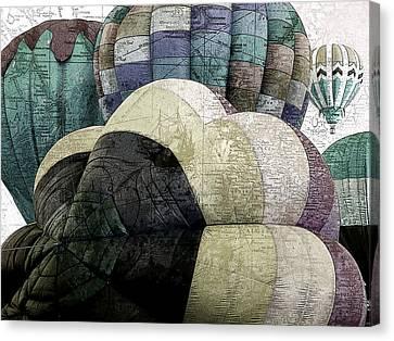 Small World Canvas Print by Bonnie Bruno
