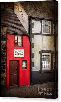 Smallest House Canvas Print by Adrian Evans