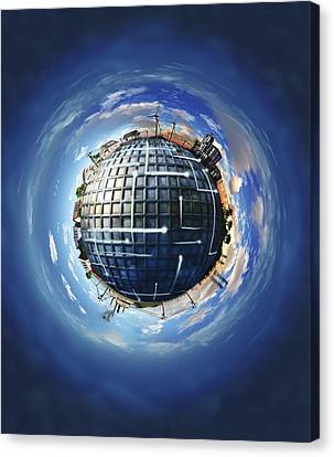 Smart Energy Grids Canvas Print by Nicolle R. Fuller
