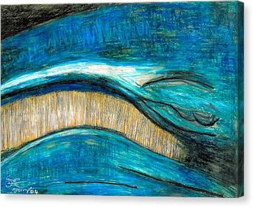 Smile Canvas Print by Carla Sa Fernandes