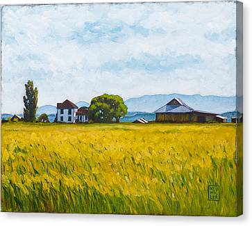 Smith Farm Canvas Print by Stacey Neumiller