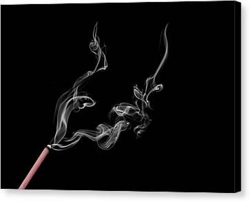 Smoke Photography Canvas Print by Jay Harrison