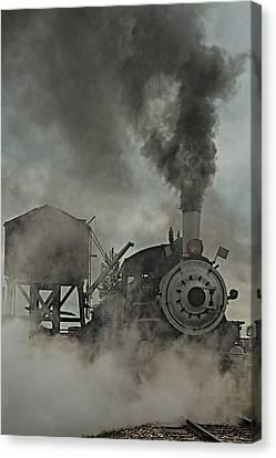 Smokin Engine 353 Canvas Print by Paul Freidlund