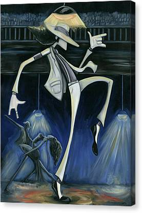 Smooth Criminal Canvas Print by Tu-Kwon Thomas