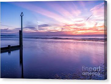 Smooth Sands Canvas Print by Adrian Evans