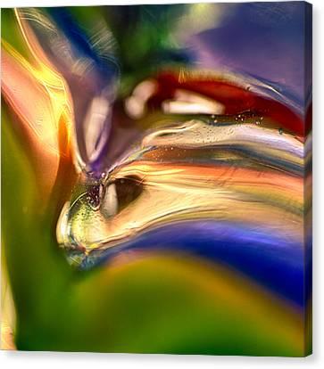 Snake Eyes Canvas Print by Omaste Witkowski