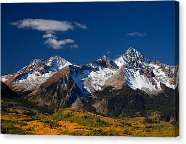 Sneffels Clearing  Canvas Print by Darren  White