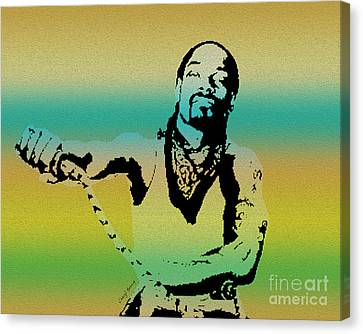 Snoop Canvas Print by Cheryl Young