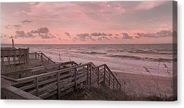 So This Is Paradise Canvas Print by Betsy C Knapp