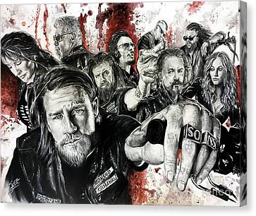 SOA Canvas Print by S G Williams