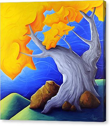 Soaring Dreams Canvas Print by Richard Hoedl