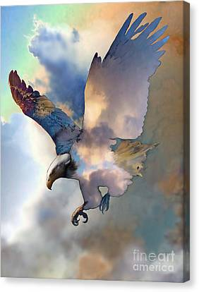 Soaring Canvas Print by Ursula Freer