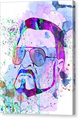 Sobchak Watercolor  Canvas Print by Naxart Studio