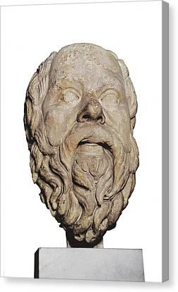 Socrates 470-399 Bc. Greek Athenian Canvas Print by Everett