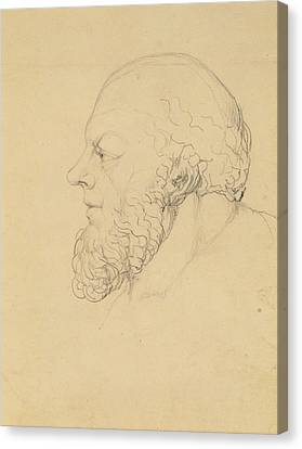 Socrates Canvas Print by William Blake
