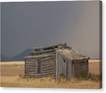 Soda Springs Idaho Canvas Print by Dennis Buckman