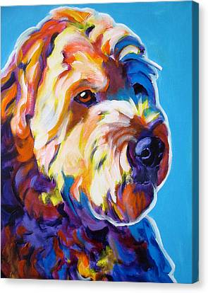 Soft Coated Wheaten Terrier - Max Canvas Print by Alicia VanNoy Call