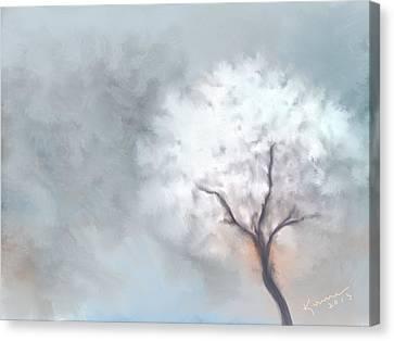 Soft Dream Canvas Print by Kume Bryant