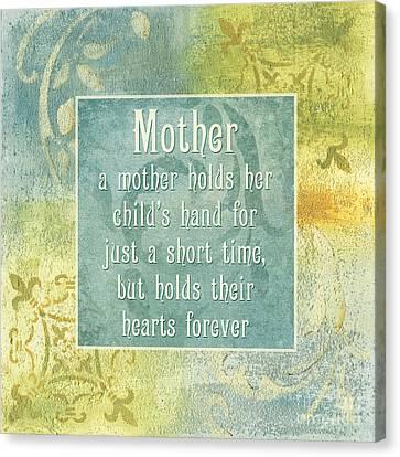 Soft Spa Mother's Day 1 Canvas Print by Debbie DeWitt
