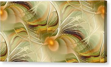 Soft Wings Canvas Print by Anastasiya Malakhova