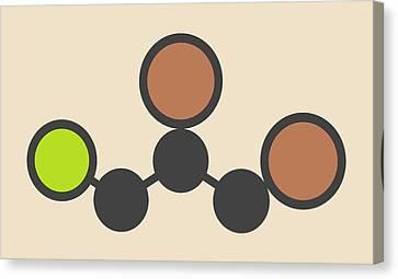 Soil Fumigant Molecule Canvas Print by Molekuul