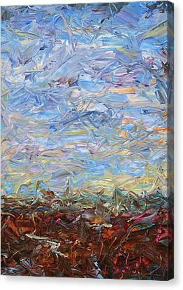 Soil Turmoil Canvas Print by James W Johnson