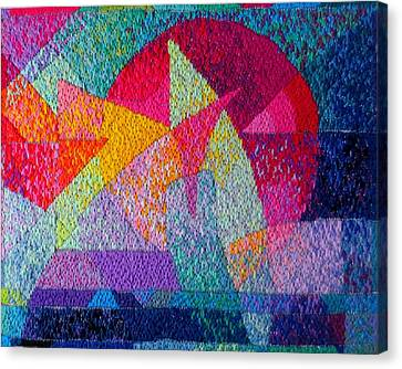 Solar Tapestry Canvas Print by Diane Fine