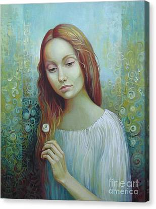 Solitude Canvas Print by Elena Oleniuc