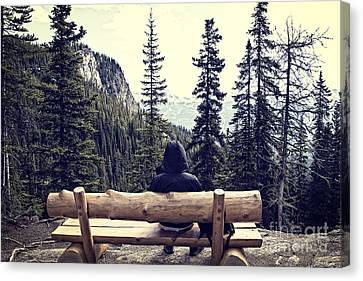 Solitude Canvas Print by Ivy Ho