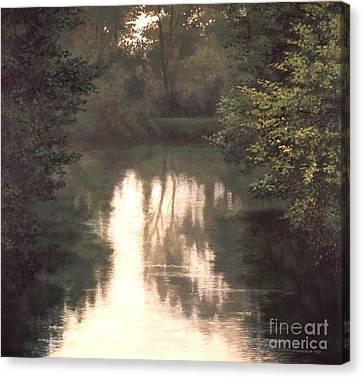 Solitude Canvas Print by Michael Swanson