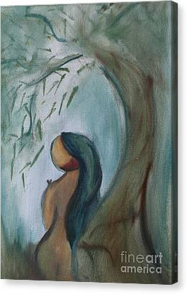 Solitude Canvas Print by Teresa Hutto