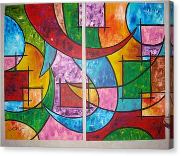 Solution To Sanity Canvas Print by Catherine Nichols