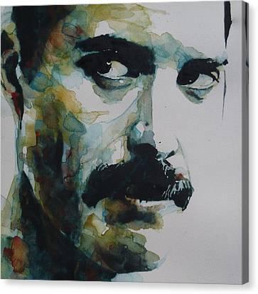 Freddie Mercury Canvas Print by Paul Lovering
