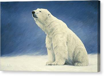 Something In The Air Canvas Print by Lucie Bilodeau