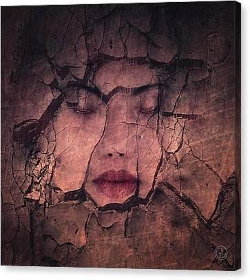 Sometimes Your Whole Life Cracks Canvas Print by Gun Legler