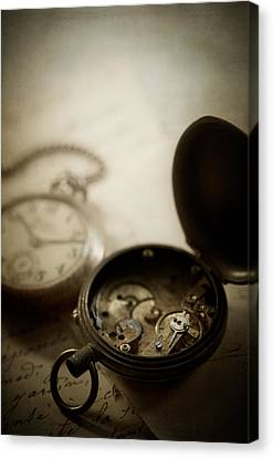 Somewhere In Time Canvas Print by Amy Weiss