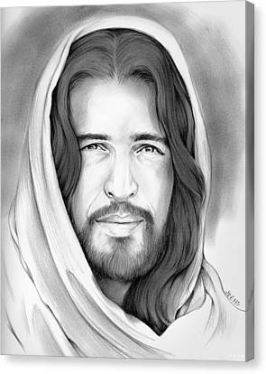 Son Of Man Canvas Print by Greg Joens