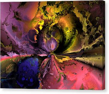 Song Of The Cosmos Canvas Print by Claude McCoy