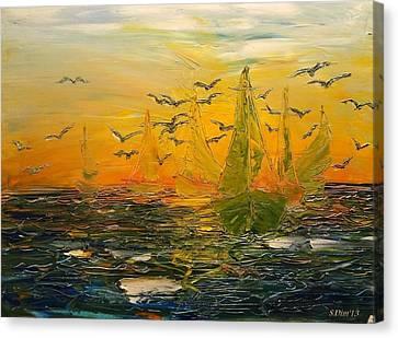 Song Of The Wind Canvas Print by Svetla Dimitrova