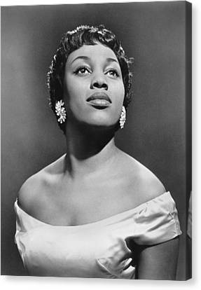 Soprano Leontyne Price Canvas Print by Underwood Archives