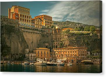 Sorrento Canvas Print by Chris Fletcher