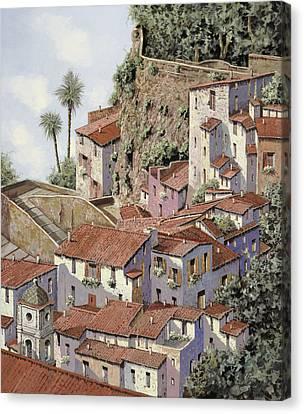 Sorrento Canvas Print by Guido Borelli