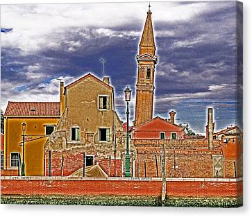 Sosta Vietata No Parking Canvas Print by Ira Shander