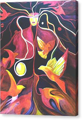 Soul Release Canvas Print by Carolyn LeGrand