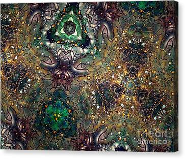 Soul Threads II Canvas Print by Denise Nickey
