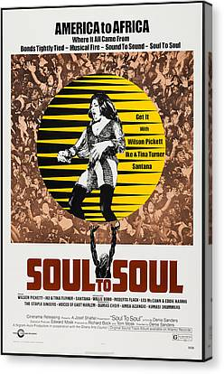 Soul To Soul, Us Poster, Tina Turner Canvas Print by Everett