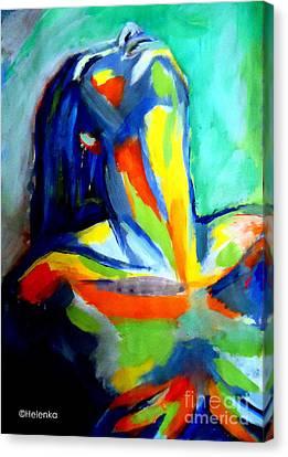 Soulful Canvas Print by Helena Wierzbicki