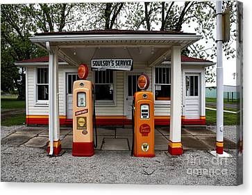 Soulsby's Service Canvas Print by John Rizzuto